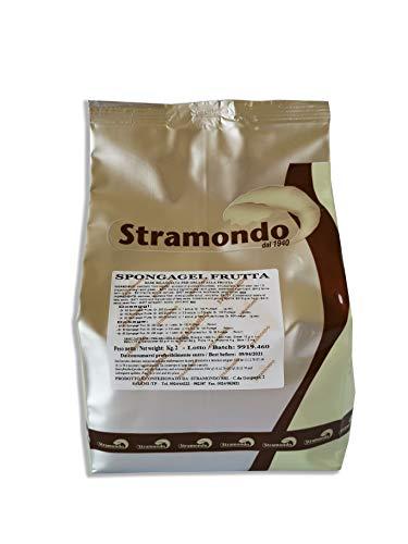 Base per Gelati alla Frutta in Polvere 2 KG - Emulsionante Stabilizzante e Addensante - Con farina di semi guar e carrube - Privo di lattosio