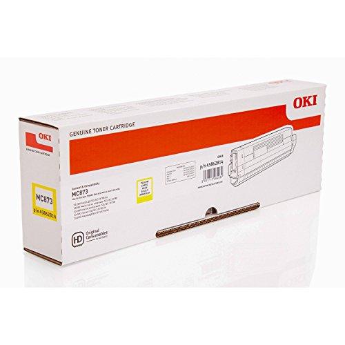 OKI MC873 Toner Gelb fuer 10.000 Seiten