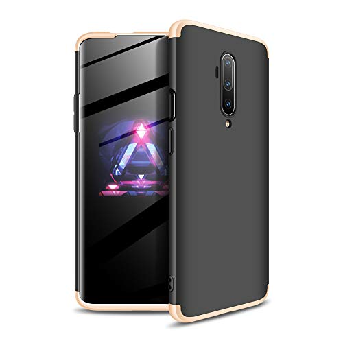 COTDINFORCA OnePlus 7T Pro Hülle, Slim Fit & Ultra Thin Hard PC Case Full Protective Cover Hard PC Case Premium 360 Grad Cover for OnePlus 7T Pro, B-3 in 1 - A7