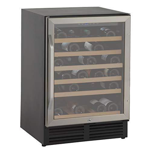 Avanti WCR506SS 50 Bottle Wine Cooler, Stainless Steel