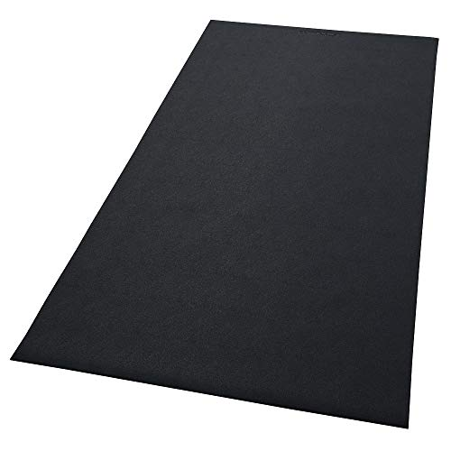 Confidence Fitness Rubber Impact Mat for Treadmills and Other Gym Equipment (Large - 182cm x 76cm)