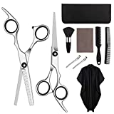 HALOVIE Hairdressers Scissors Thinning Scissor Hairdressing Set Professional Hair Cutting Shears Kit