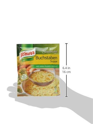 Knorr Suppenliebe Buchstaben Suppe, 14 x 3 Teller - 4