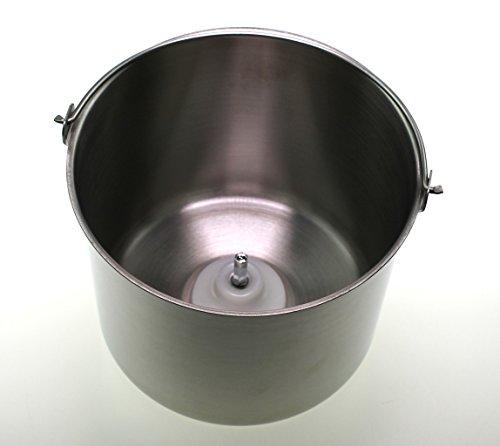 Unold 4884540 Edelstahl-Behälter für 48845 Gusto Eismaschine, Speiseeisbereiter