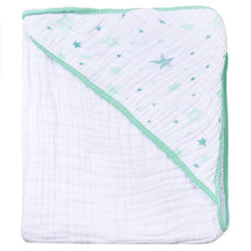 Toalha De Banho Soft Com Capuz, Papi Textil, Verde