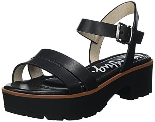 Sandalias Mujer mustang | Sandalias Curie 50437 | mustang Mujer | Sandalias Tira de Tobillo | Cierre con Hebilla