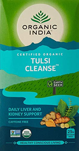Organic India Tulsi Cleanse Tea 25 Tea Bags