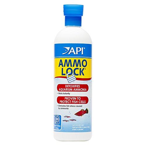 API AMMO-LOCK Freshwater and Saltwater Aquarium Ammonia...