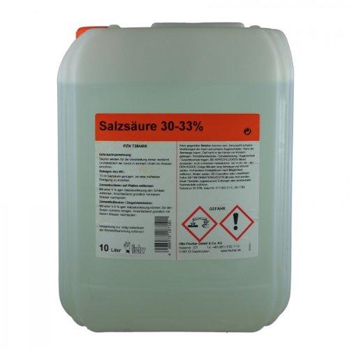 Salzsäure 30-33% techn. 10 L
