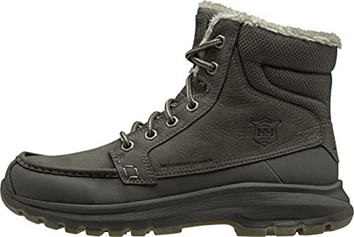 Helly Hansen Mens Garibaldi V3 Winter Boot, 714 Espresso/Beluga, 12