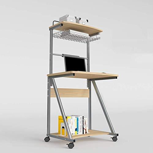 ZXL Uitneembare nachtkastje, Laptop Desk Lift Computer Desk Kleine Bureau Bank TV Tafel Mobiele Game Bed Tafel, Bureau School tegen Bijziendheid (Kleur: C)