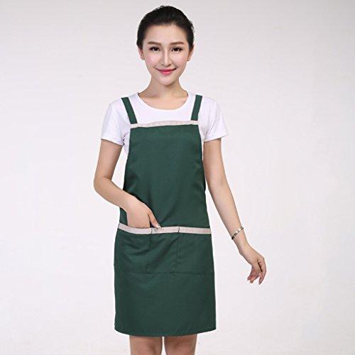 Tea Shop Schürze Supermarkt Café Kellner Arbeitskleidung Taille koreanische Schürze LYMY (Color : #5)