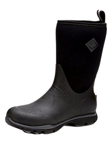 Muck Boots Herren Arctic Excursion Mid Gummistiefel, Schwarz (Black/Castlerock), 49.5/50 EU