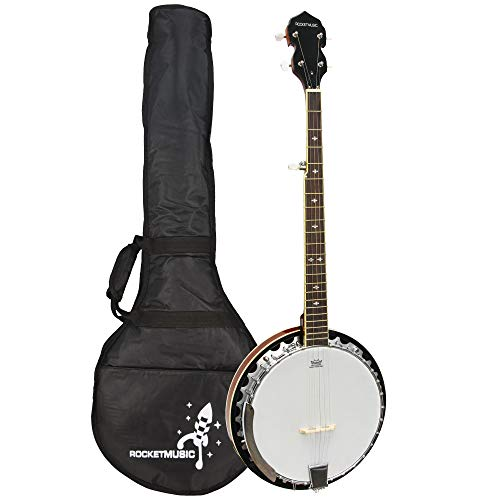 Rocket Music BJM01 Metal Pot Banjo (5 Saiten)