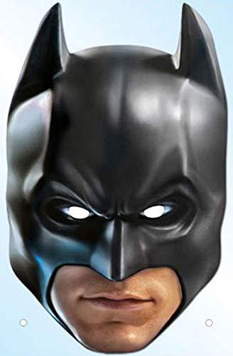 Batman-the dark knight trilogy-masque en carton de elizabeth iI avec trous pour les yeux et
