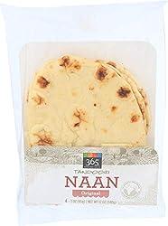 365 Everyday Value, Tandoori Naan, Original, 4 ct