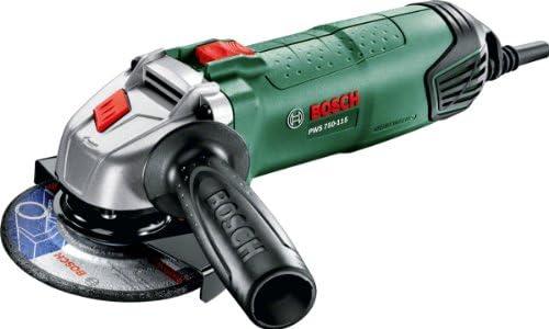 Meuleuse angulaire compacte Bosch -  PWS 750-115 (Ø 115 mm, capot de protection, poignée anti-vibrations, livrée sans disque) product image