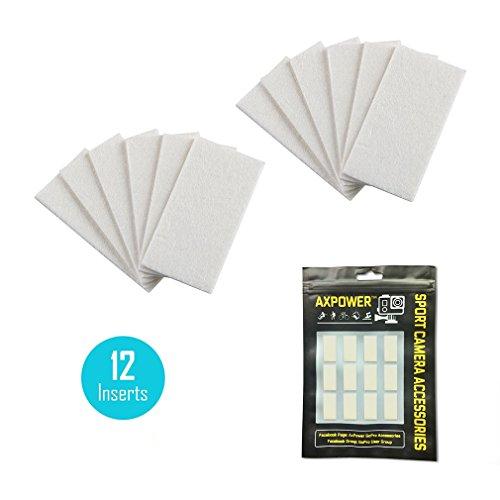 [12PCS] AxPower Anti Fog Inserts Strips Prevent Anti-Fog Pads for GoPro Underwater Housing Case Hero 7 6 5 4 3+ 3 Xiaomi SJM