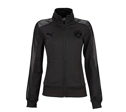 PUMA  Jacke BVB T7 Sweat Jacket, black, XS, 749005 02