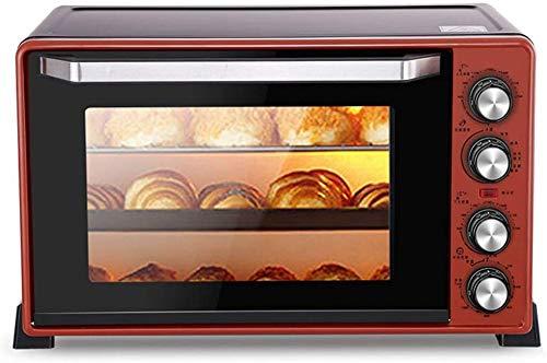 Professionele Toaster 3D hetelucht convectie Multi-Function Inclusief bakplaat Grill Slag Tray 45l