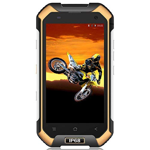 Blackview BV6000 4.7 pulgadas Smartphone Reforzado ip68 teléfono a prueba de golpes / resistente / a prueba de agua con doble SIM 4G LTE, 3GB 32GB RAM + ROM, batería 4500mAh, cámara 13MP + 5MP, GPS / NFC / huella digital, Amarillo