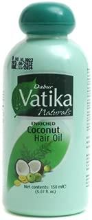 Dabur Vatika Enriched Coconut Hair Oil - 5.07fl oz