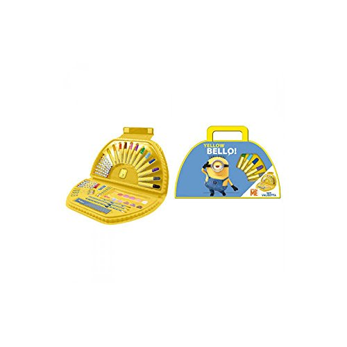 Gabbiano MINIONS CASE KIT VERY KIND ME ASSORTED COLORS PENCIL PENCILS 38440