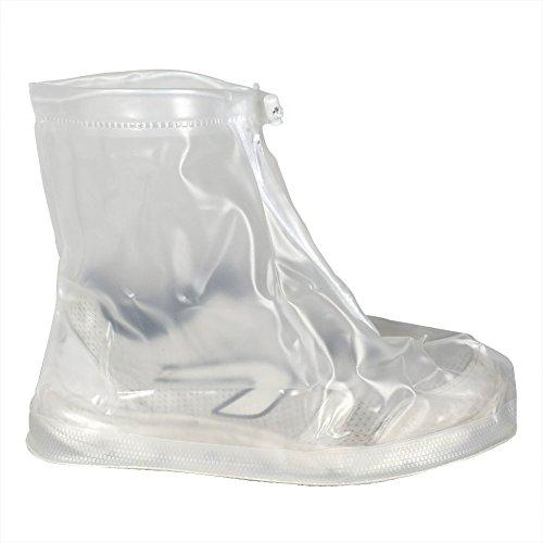 Réutilisable Imperméable Pluie Neige Protection antidérapante hommes femmes filles garçons Chaussures Housses XL blanc