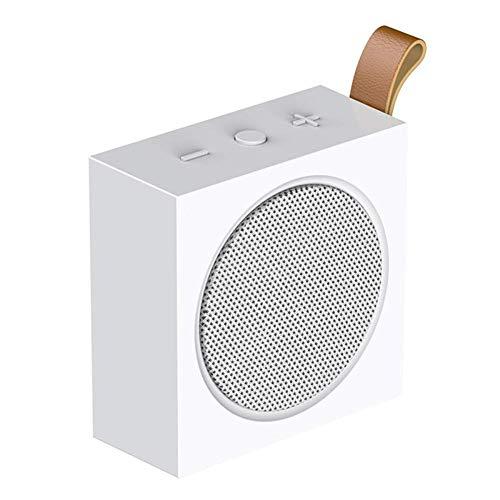 QUWN Beweegbare draadloze Bluetooth luidspreker mini handbuiten luidspreker ondersteuning hands free & TF-kaarten aanbieding helder en zuiver geluid voor huis buiten