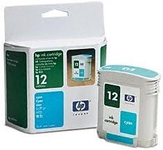 HP? C4804A-HP12, C4805A-HP12, C4806A-HP12 Inkjet Cartridge INKCART,F/HP12,CYN E10 BLK (Pack of2)