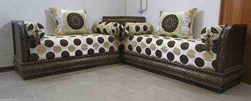 Muebles étnicos sofá étnico salón árabe marroquí Madera Oriental 0910190902