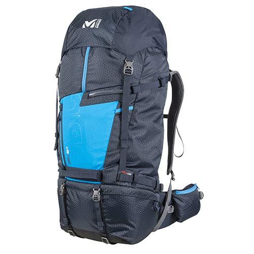 Millet Ubic 60+10 Mochila, Unisex Adultos, Saphir/Electric Blue, 45 cm