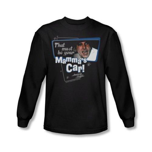 American Grafitti - Car shirt à manches longues de Mamma hommes en noir -, XX-Large, Black