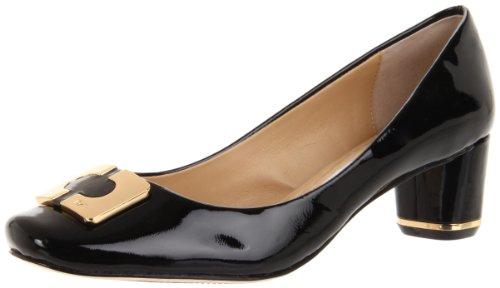 Diane von Furstenberg Women's Bonnie, Black Patent, 8 M US
