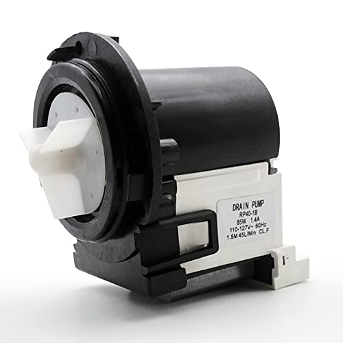 [NEW] 4681EA2001T Washer Drain Pump Motor by JMREEJP, Sturdy and Durable Exact Fit for LG/Kenmore Washers, Replaces AP5328388, 4681EA1007G, 2003273, 4681EA1007D, 4681EA2001N and More