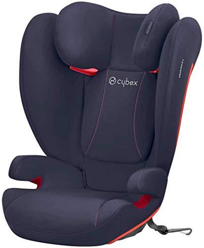 Cybex Silver Seggiolino auto per bambini Solution B-Fix, Per auto con e senza ISOFIX, Gruppo 2/3 (15-36 kg), Da circa 3 fino a 12 anni, Blu(Bay Blue)