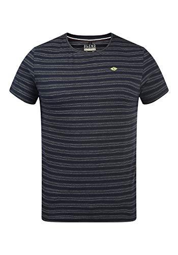 Blend Camiseta para hombre. azul marino XXL