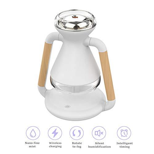 GHmarine Difusor de aire eléctrico de aroma de carga inalámbrica para teléfono humidificador ultrasónico aceite esencial aromaterapia