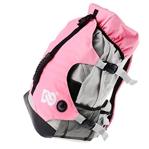 Inline Skate Rucksack, Rollschuh Aufbewahrungstasche Skateschuhe Sport Tasche - Rosa