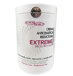 CREMA EXTREME ANTICELULITICA REDUCTORA Efecto Frío-Calor sesiomworld 1 kilo