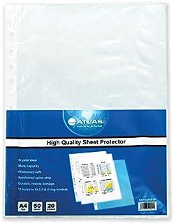 اطلس غلاف لحماية الورق، اى 4 - 20 حبة