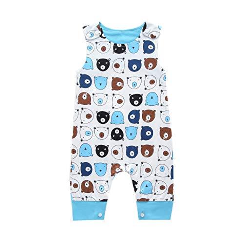 Ropa Bebe Niño, Lanskirt Conjuntos Camisas Bebe + Pantalones Moda Ropa para Niños Bebés Niñas Mono del Mameluco de Impresión Animal de Dibujos Animados Camisetas 3 a 24 Meses