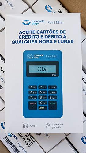 4 Maquininhas Point Mini Bluetooth do Mercado Pago D150