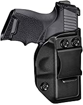 HQDA Taurus G2C & PT111 Holsters,IWB KYDEX Holster Fits Taurus Millennium G2 PT111 PT132 PT138 PT140 PT145 PT745 G2C (NO PRO), Inside Waistband Tactical Belt Pant Holster Retention & Adjustable Cant