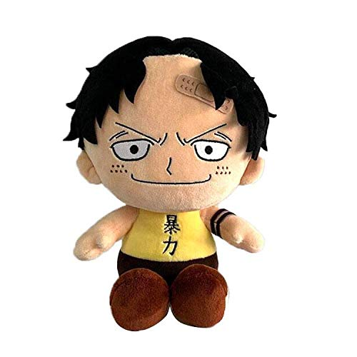 Sakami Merchandise 1E9130EB12 - Peluche One Piece Portgas Ace, 20 cm, originale e con licenza