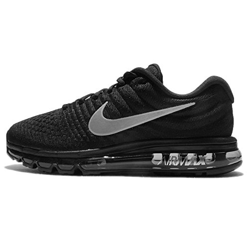 Nike Men's Air Max 2017 Running Shoe Black/Black-Black 11.5