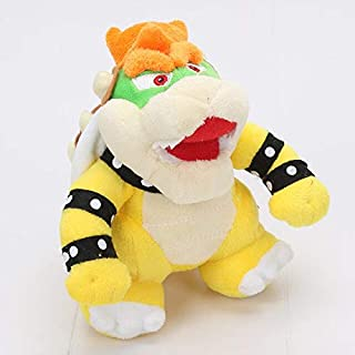 LAJKS 10Pcs/Set 7'' 18Cm Game Rio Plush Koopa Bowser Dragon Soft Stuffed Plush Doll Toys for Gifts Must Have Tools Gift Wrap Boys Favourite Characters Superhero Party Supplies UNbox Dolls