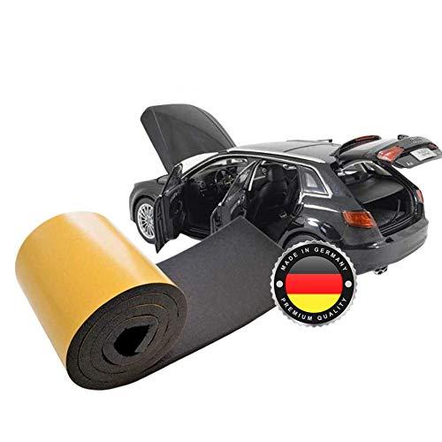 WS · SYSTEM 1x Dämmschaummatte selbstklebend und hitzebeständig – 1 Stk Dämmvlies MADE IN GERMANY als Dachbodendämmung, Dämmung und Schallschutz für den KFZ Motorraum oder als Wanddämmung