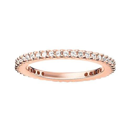 Thomas Sabo Damen-Ring Silber vergoldet Zirkonia weiß Gr. 52 (16.6) - TR1980-416-14-52