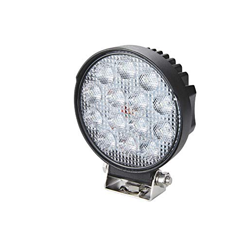 HELLA 1G1 357 105-022 Arbeitsscheinwerfer - Valuefit R2200 - LED - 12V/24V - 2200lm - geschraubt - Nahfeldausleuchtung - Kabel: 800mm - Stecker: offene Kabelende - Menge: 1